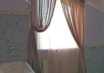 комплект штор для ванной комнаты